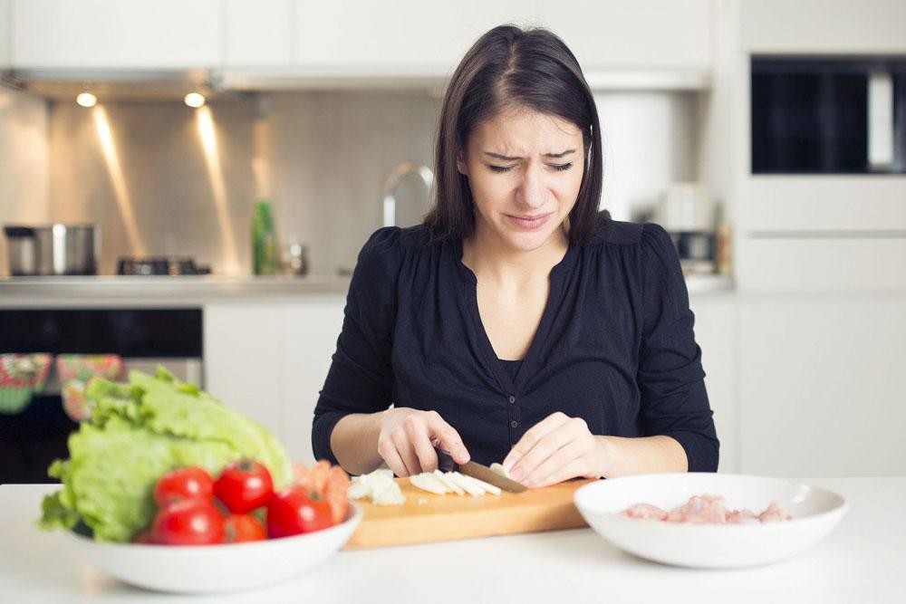 ¿Por qué se llora al cortar cebolla?
